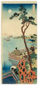 Abe no Nakamaro | Katsushika Hokusai | Galerie Zacke